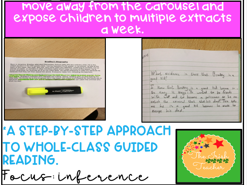 Whole Class Guided Reading: Inference Skills