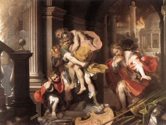 The Aeneid: Quotes/ Events under Themes in  books 4-12 (not 5 as it is unprescribed)