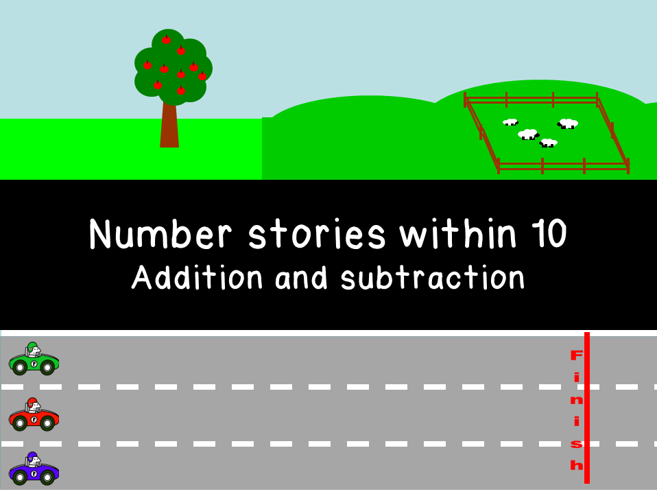 Number stories - addition and subtraction