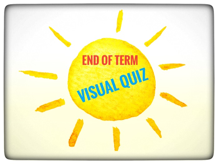 End of term Visual Quiz for Key Stage 2