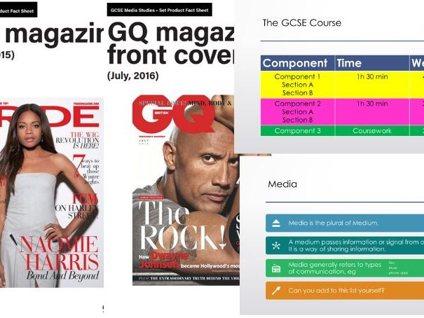 Topic 1: What is Media (C1SA Magazines)