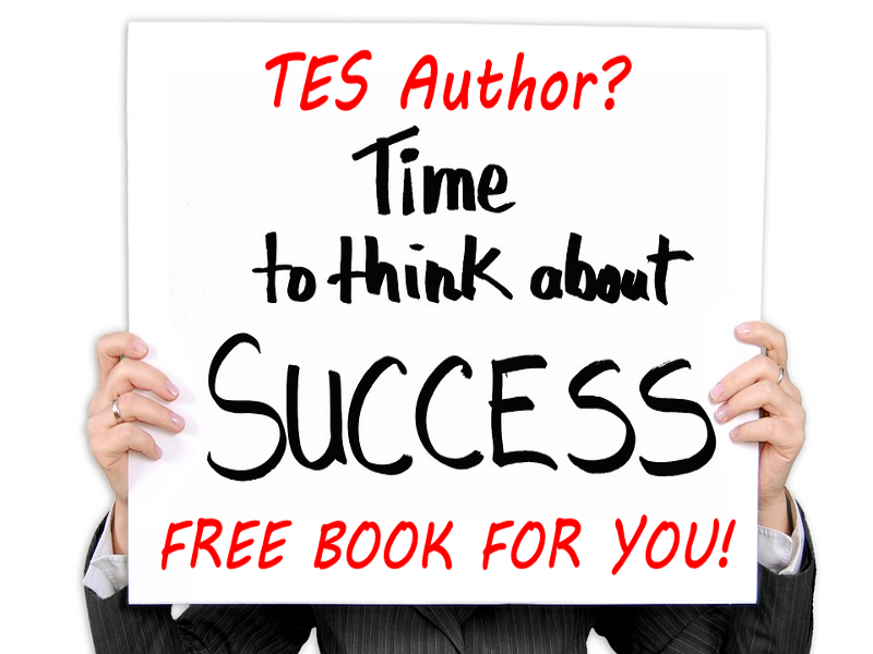 How to be a successful TES writer for FREE! Two books - one for beginners, one to boost sales more