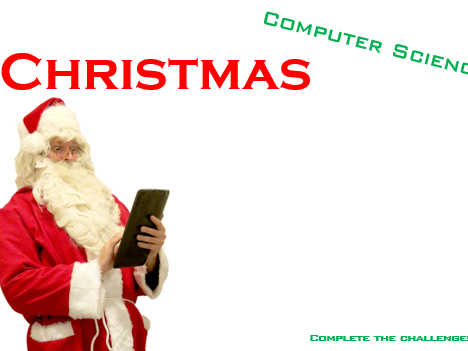 Computer Science Christmas Activity - Powerpoint Tasks