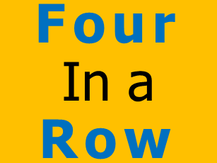 Four in a Row Game - Algebraic Substitution