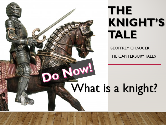 The Knight's Tale - Canterbury Tales