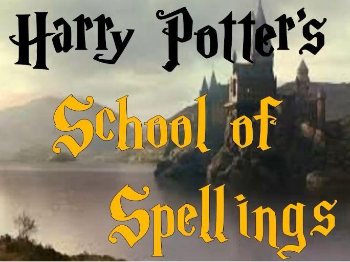 Harry Potter LKS2 Common Exception Words Set 1 (A-Bi)