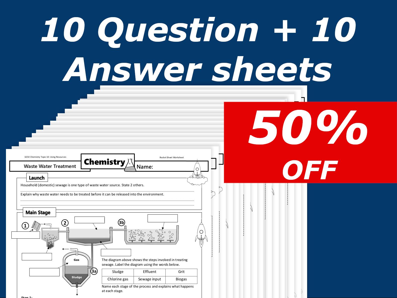 10 Sheet Using Resources Home Learning Super Bundle GCSE