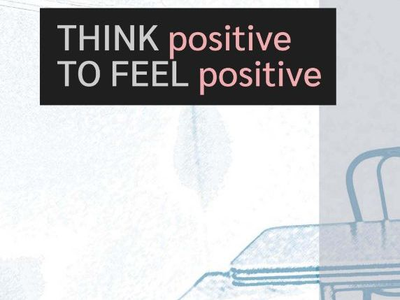 Think Positive to Feel Positive Poster and Activity (US)