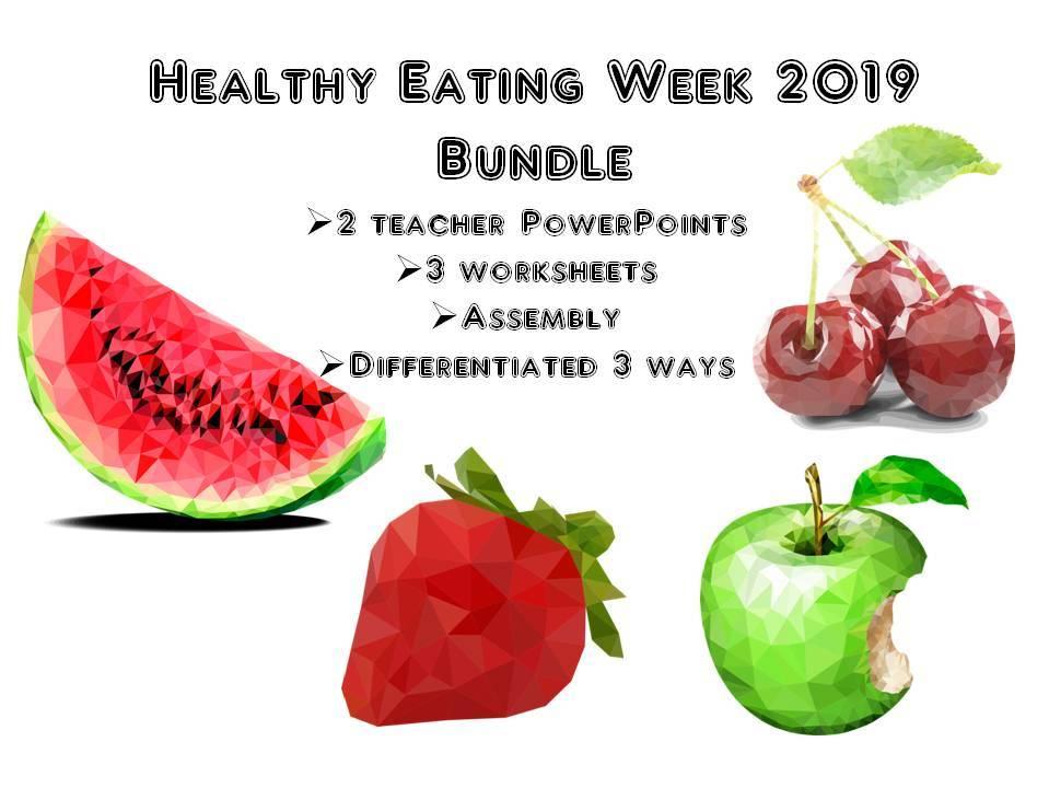 Healthy Eating Week 2019 Bundle