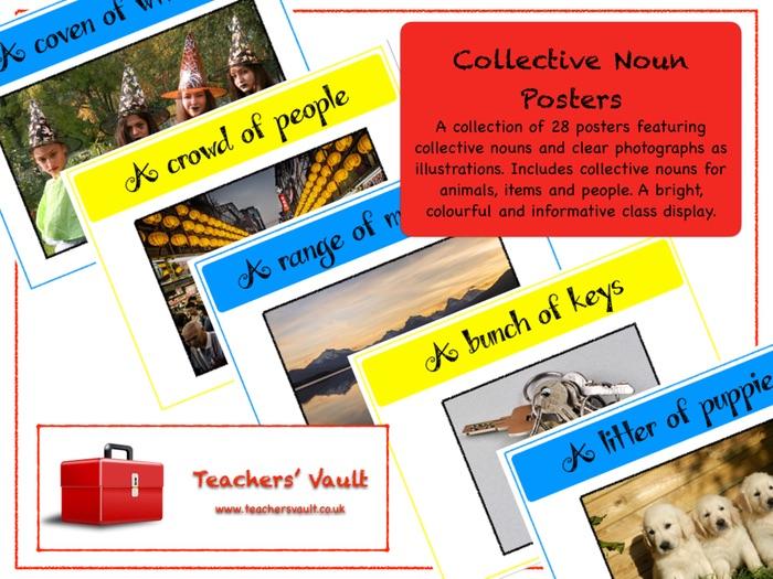 Collective Noun Posters