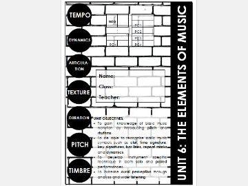 Elements of Music Scheme of Work