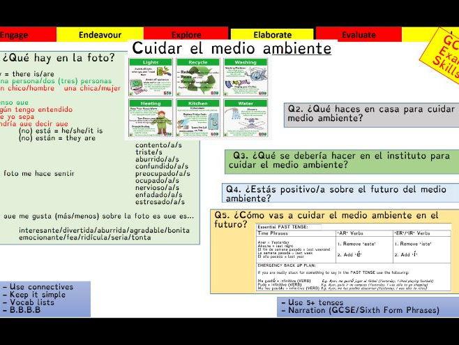 Viva GCSE - Module 8 - Actua localmente - Lesson 1