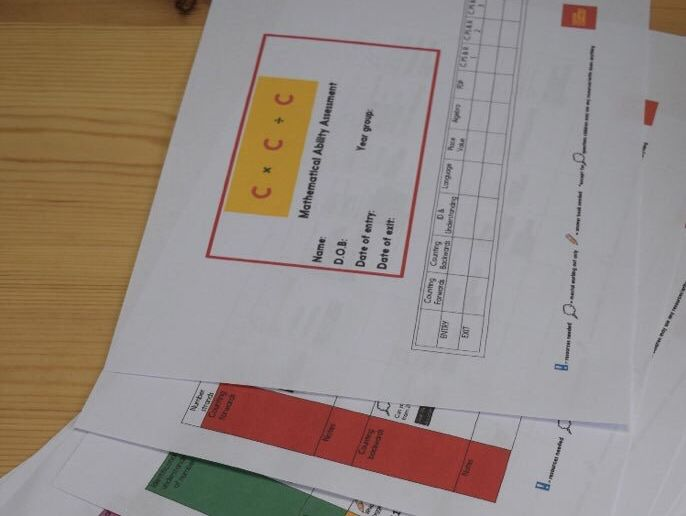 Primary Maths Ability  Assessment