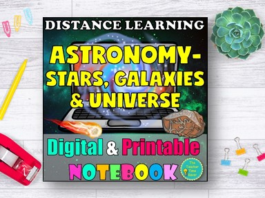 Stars Galaxies and Universe Distance Learning Curriculum