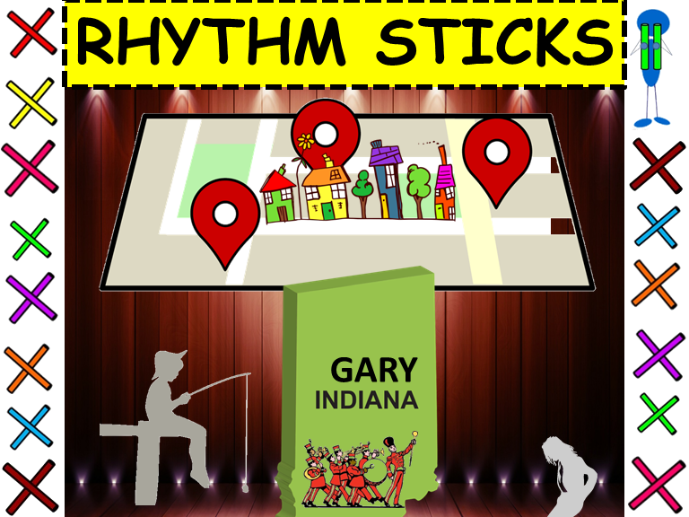 "Rhythm Sticks: Musicals: ""Gary Indiana"" from The Music Man"