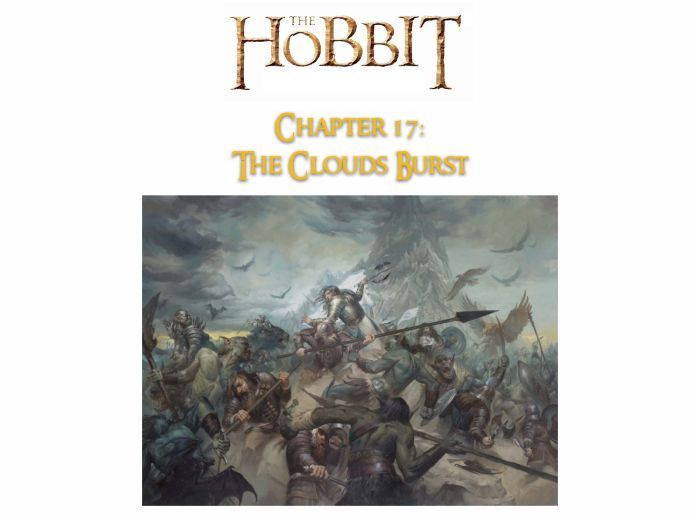 The Hobbit (J. R. R. Tolkien) - Chapter 17 - NO PREP ACTIVITIES, ANSWERS + GUIDE
