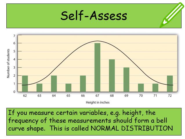 Edexcel Psychology (9-1) GCSE New Spec Unit 1 Lesson 23 - Normal Distribution