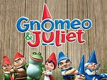 Gnomeo and Juliet versus Shakespeare Viewing Grid