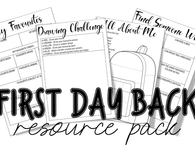 First Day Back Resources