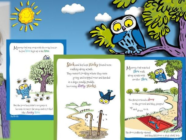 **FREE**  All Memory Owl stories in Ppt format