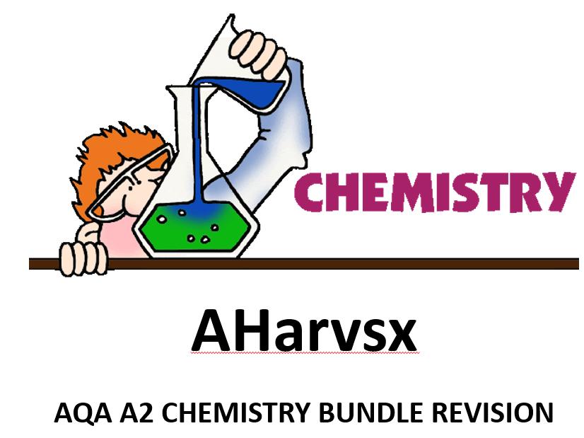 AQA A2 CHEMISTRY REVISION BUNDLE