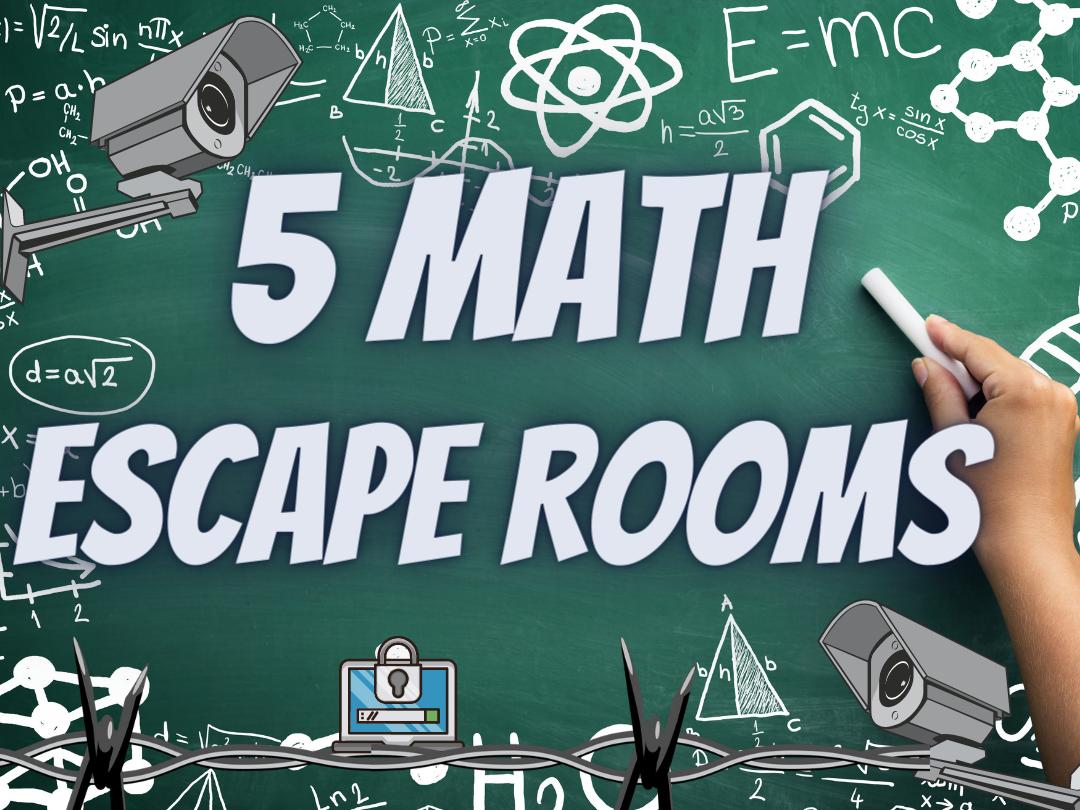 Maths end of term escape rooms