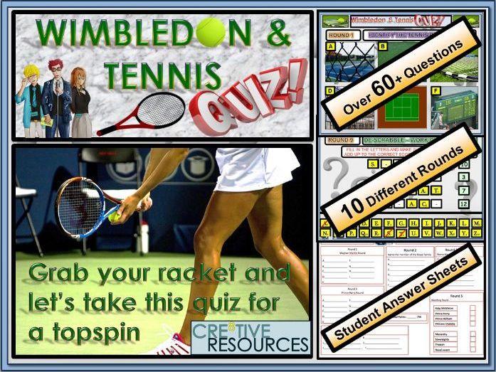 Wimbledon & Tennis Quiz 2018