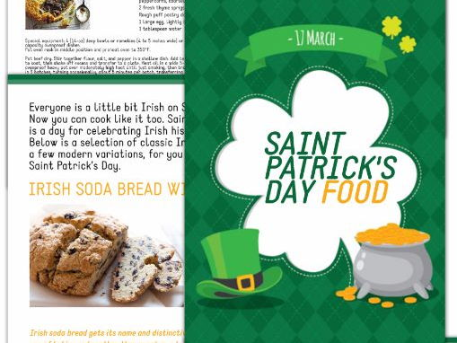 ST. PATRICK'S DAY FOOD