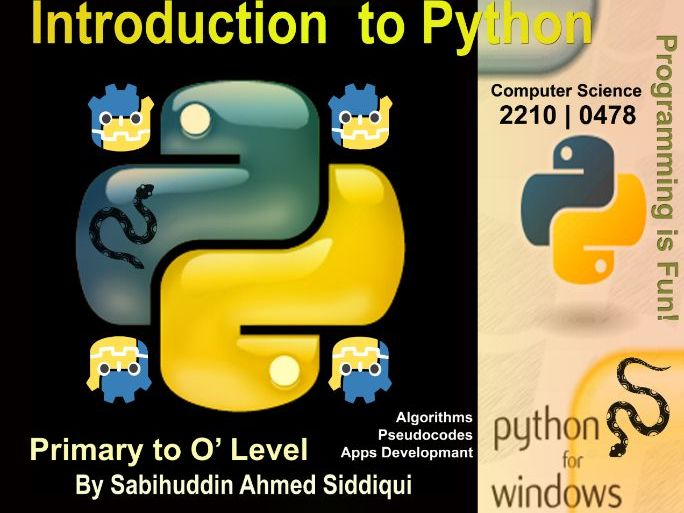 Introduction to Python 3.5/6 | Primary to O' Level Series 6