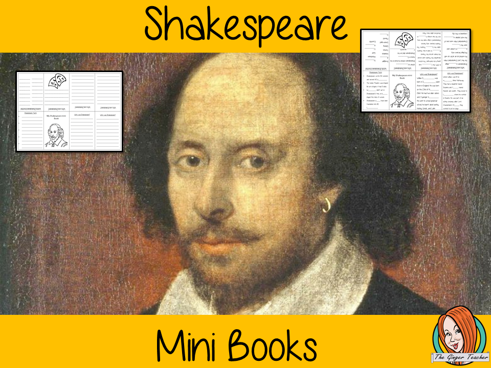 Learn About Shakespeare Mini Book