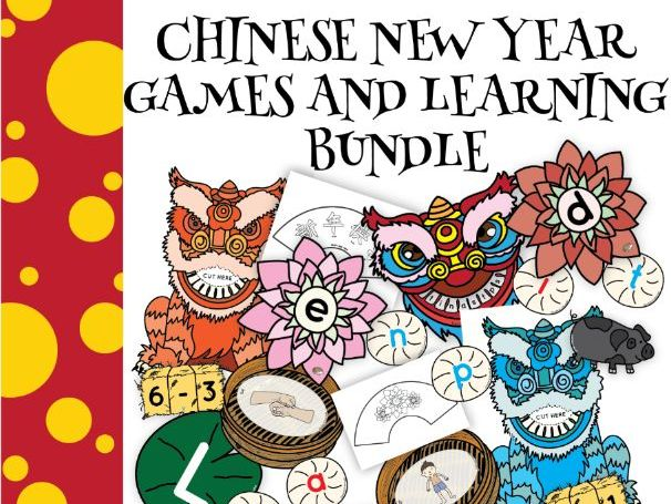 Chinese New Year Games Set
