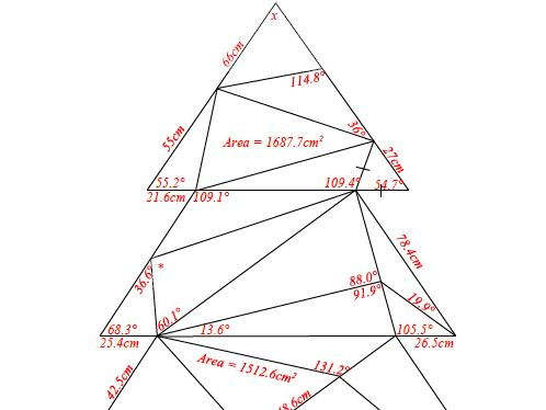 Christmas Trigonome-tree & some Mince Pie-thagoras