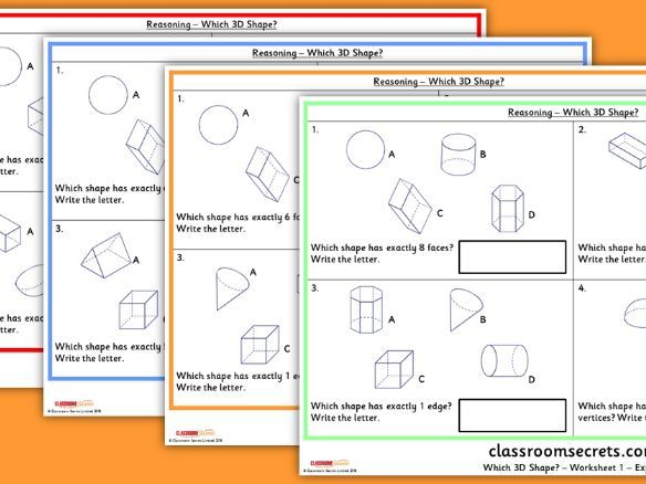 KS1 Which 3D Shape Reasoning SATs Questions