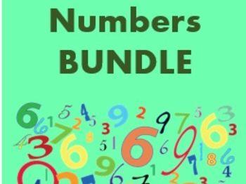 Numeri (Numbers in Latin) Bundle
