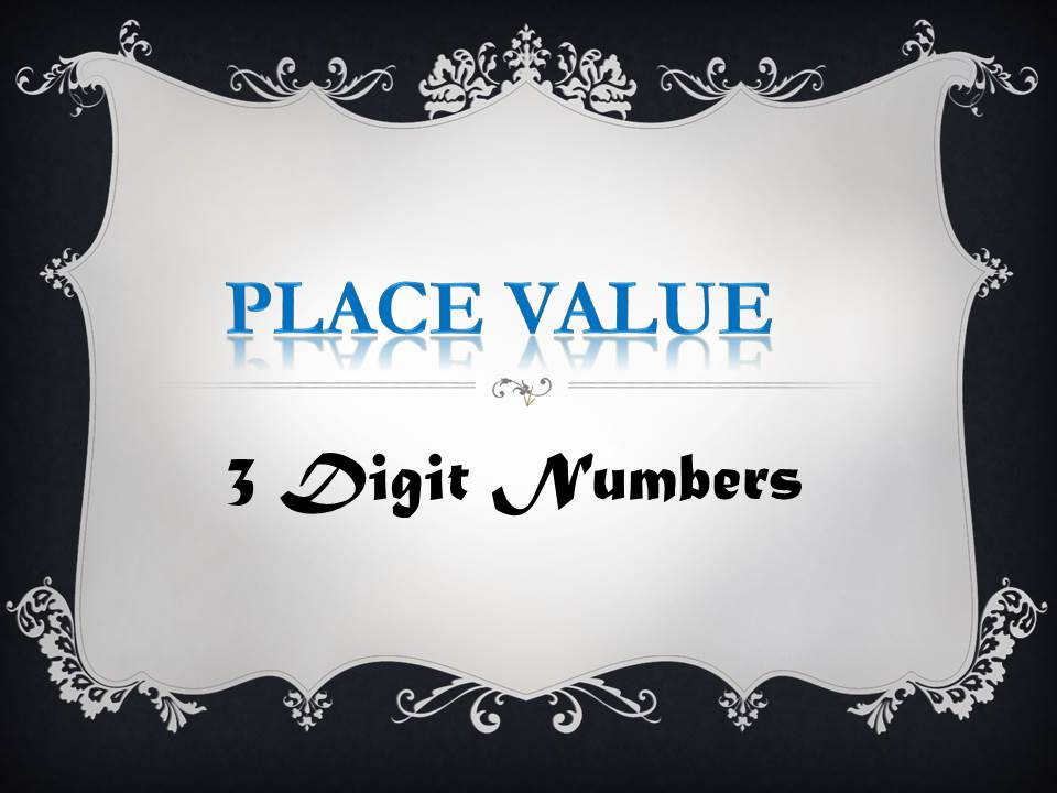 KS1 Resource: Place Value and 3 Digit Numbers_ Informal Assessment Worksheet