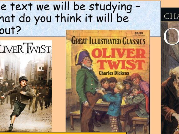 Oliver Twist KS3 Scheme of Work