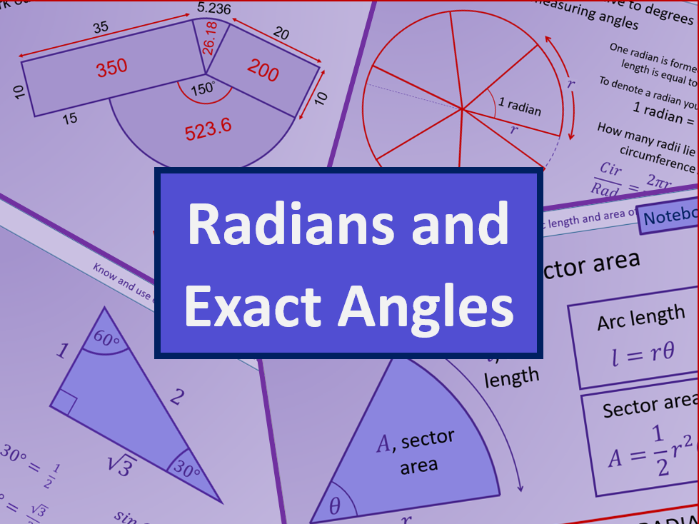 Radians and small angles - A level A2 Mathematics