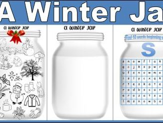 A Winter Jar Activity