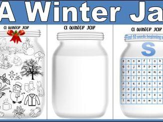 A Winter Jar Activity