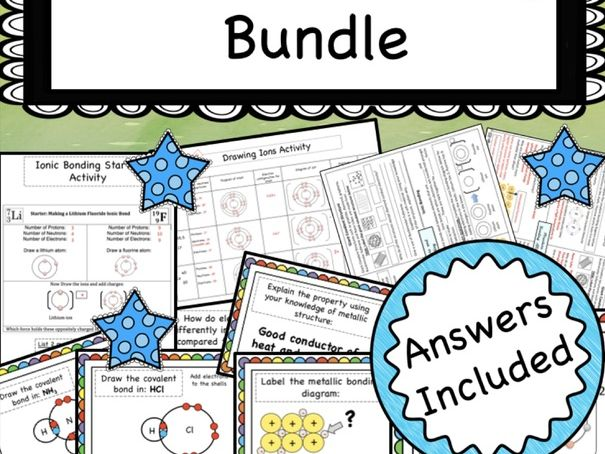 Chemical Bonding Bundle