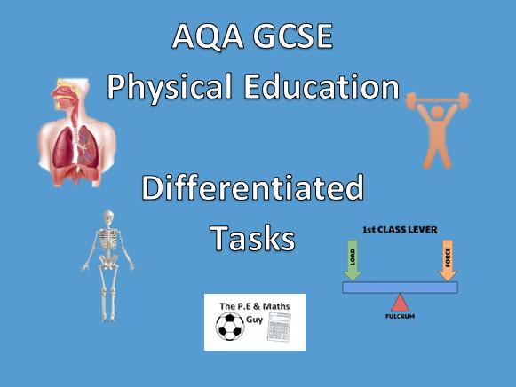 AQA GCSE P.E - 7 Differentiated Tasks