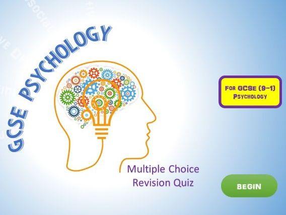 GCSE Psychology Revision Quiz