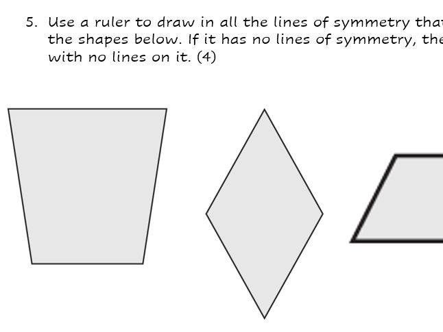 KS2 Geometry Assessment