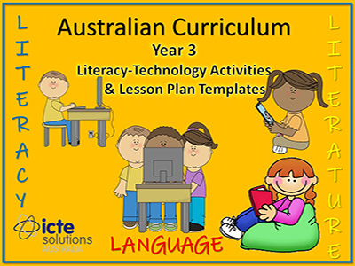 Year 3 Literacy Lesson Plans