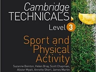 Cambridge Technicals Level 3 in Sport - Unit 10 LO2