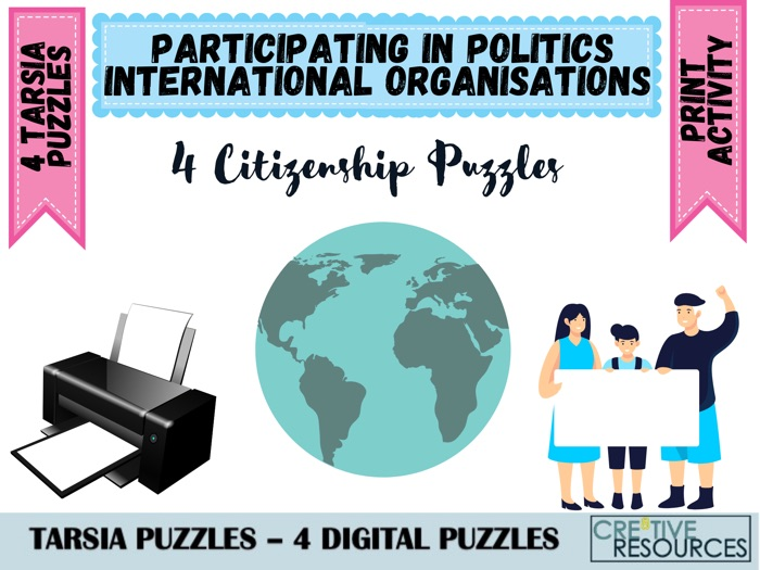 International Organisations Puzzles