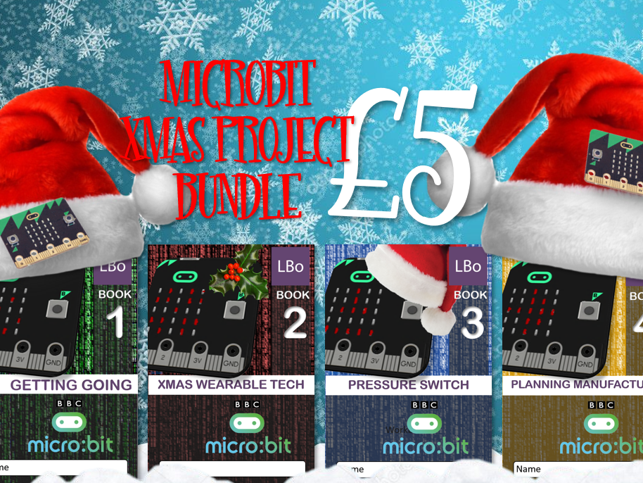 micro:bit XMAS PROJECT BUNDLE