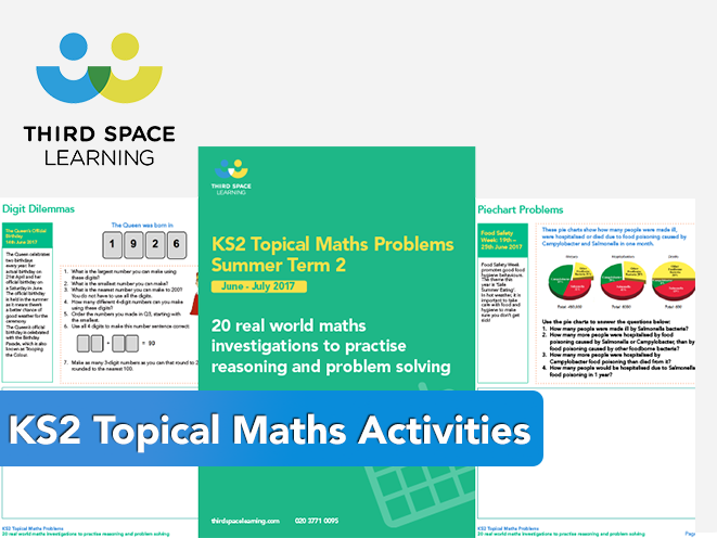 20 Topical Maths Investigations for KS2