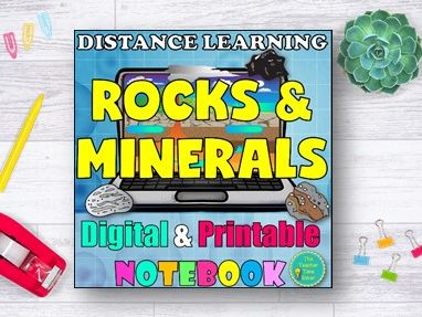 Rocks and Minerals Distance Learning Bundle