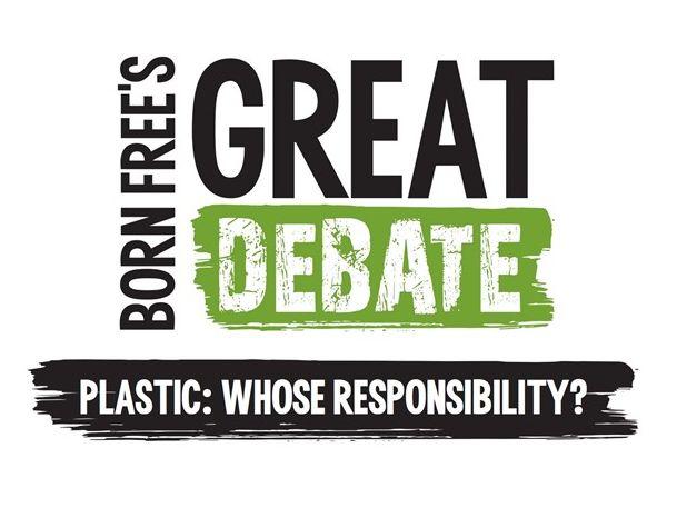 Plastic: Whose responsibility? Born Free's Great Debate for KS2
